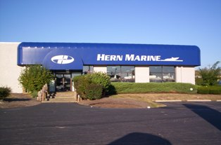 Hern Marine Front of Store