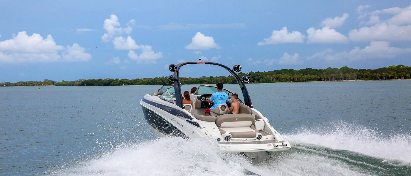 Crownline sport boat